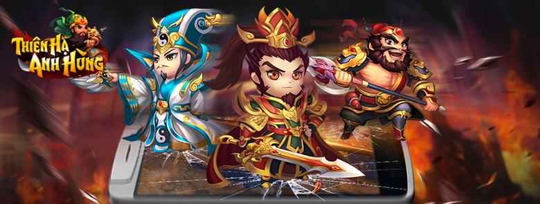 Game kiếm hiệp mobile Thiên Hạ Anh Hùng