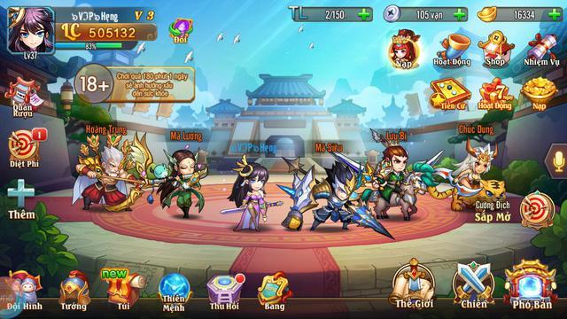Game Thiên Hạ Anh Hùng