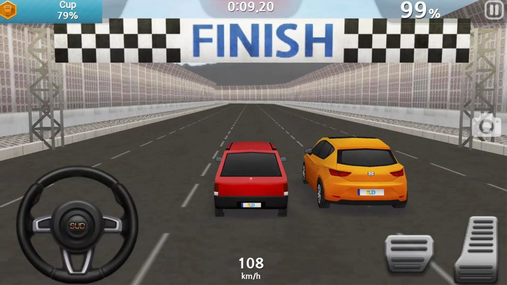 Game mobile Driving 2