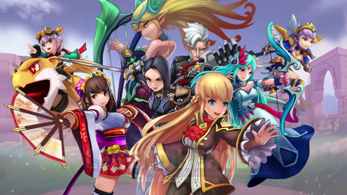 game mobile IOS miễn phí Legend Heroes: The Academy