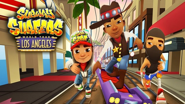 Game mobile Subway Surfers