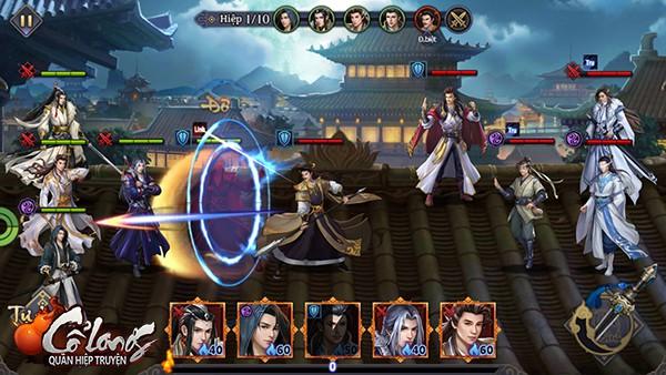 Game kiếm hiệp Cổ Long Quần Hiệp Truyện