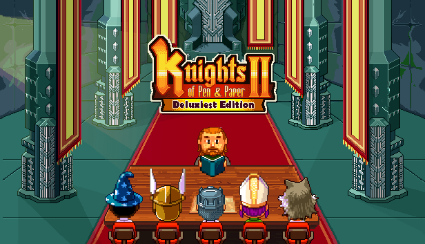 Game mobile Knights of Pen and Paper 2