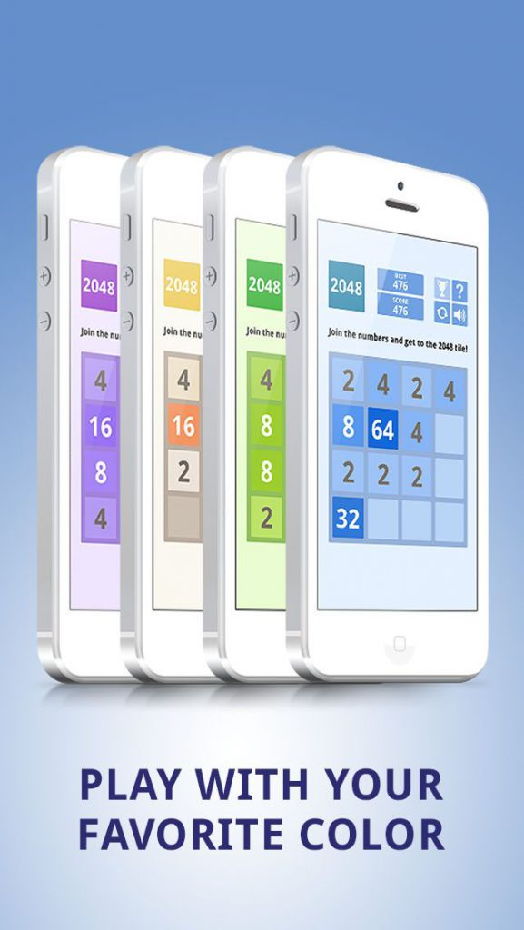 2048 Colors Tile Puzzle Game: Challenge your brain 1.2 IOS