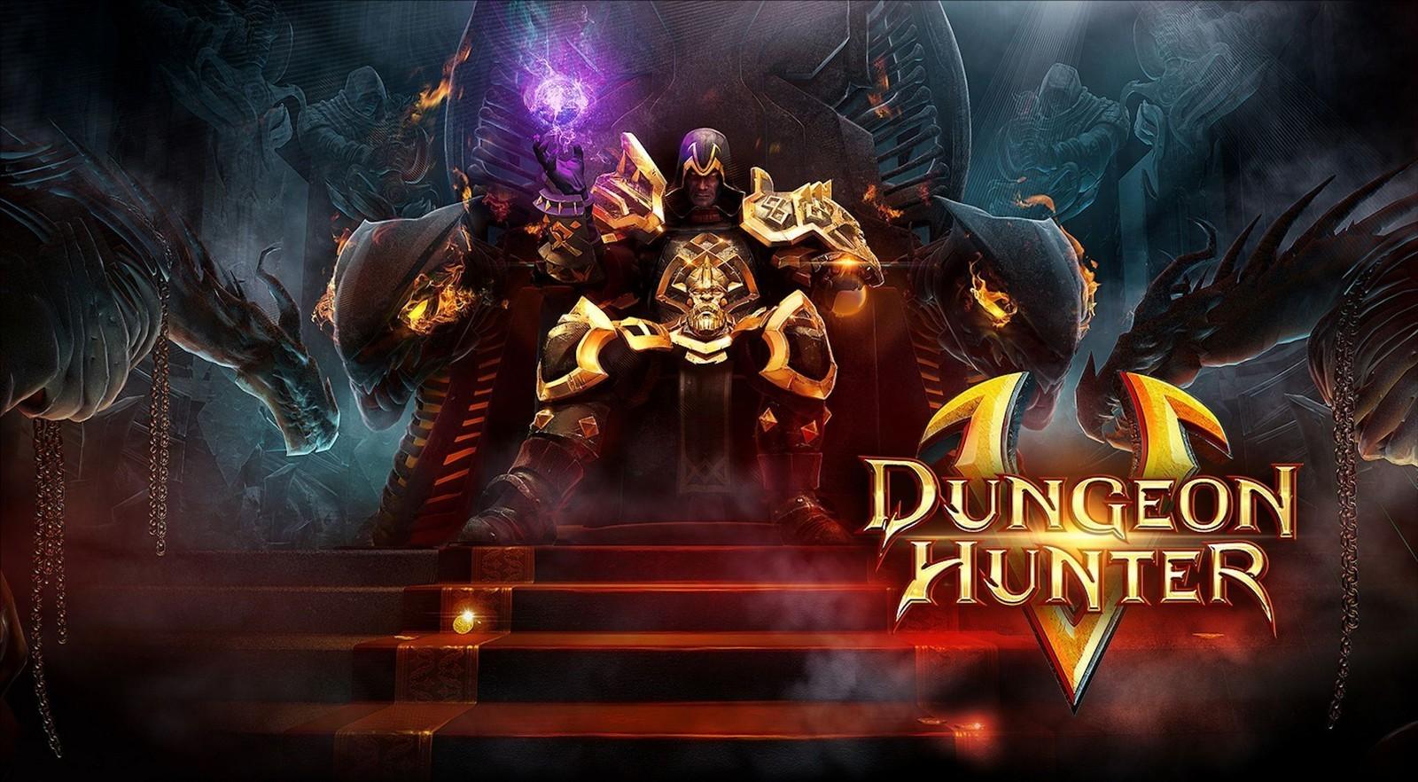 Game mobile Dungeon Hunter 5
