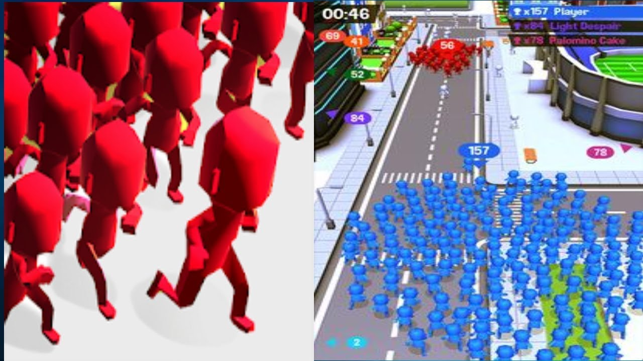 Game mobile IOS Crowd City